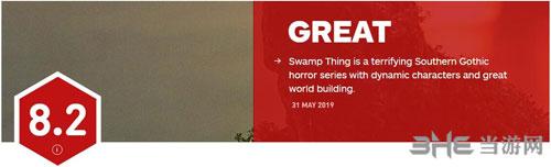 《沼泽怪物》IGN评分