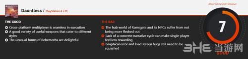 《无畏》GameSpot评分