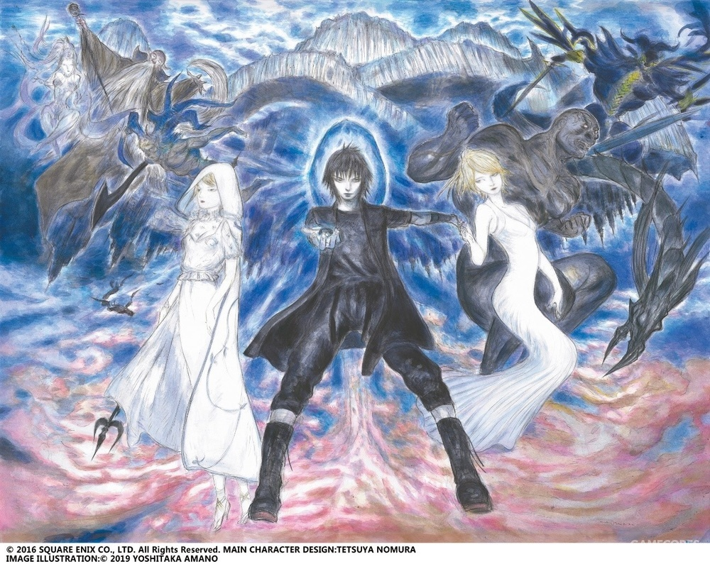 《最终幻想15》视觉海报1