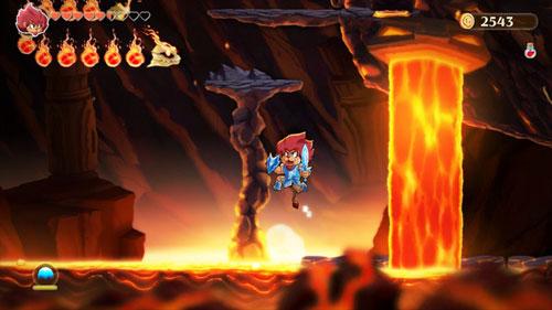 《怪物男孩和诅咒王国》游戏截图3