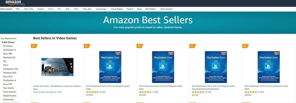 亚马逊预购页面