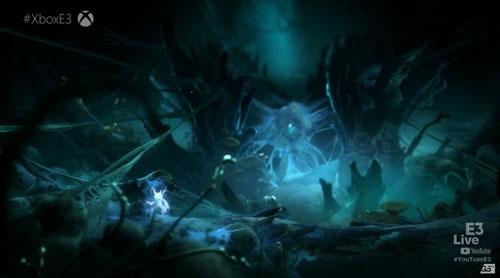 《奥日与精灵意志》游戏截图