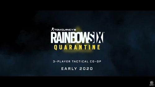 《彩虹六号:封锁》游戏截图
