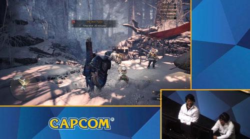 《怪物猎人世界冰原》游戏直播