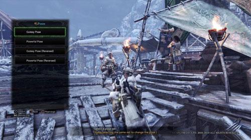 《怪物猎人世界冰原》游戏截图4