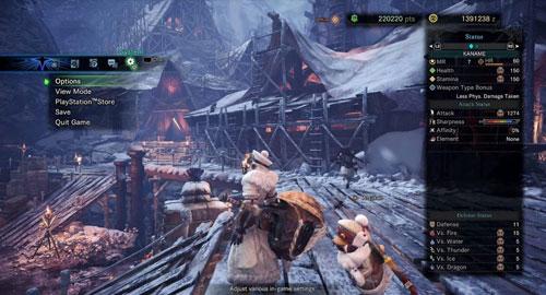 《怪物猎人世界冰原》游戏截图3