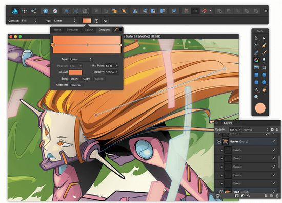 affinity designer圖片