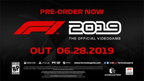 《F1 2019》游戏截图