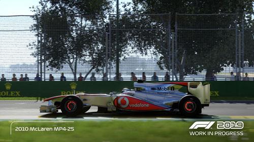 《F1 2019》游戏截图4