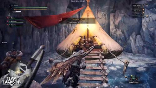 《怪物猎人世界》冰原试玩截图2
