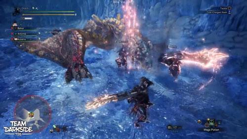 《怪物猎人世界》冰原试玩截图4