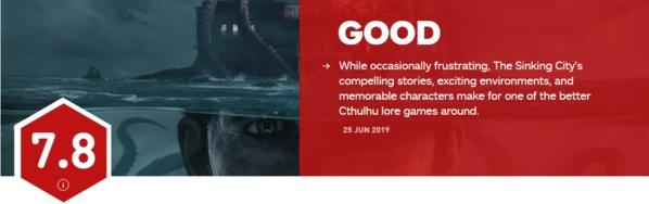 沉没之城IGN评分图片
