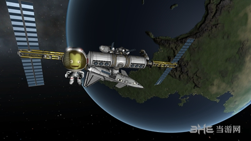 坎巴拉太空计划游戏截图3