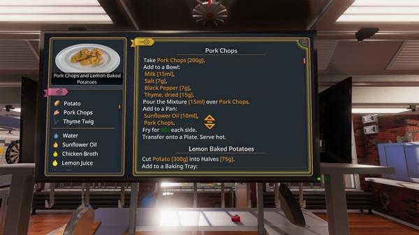 烹饪模拟器截图2