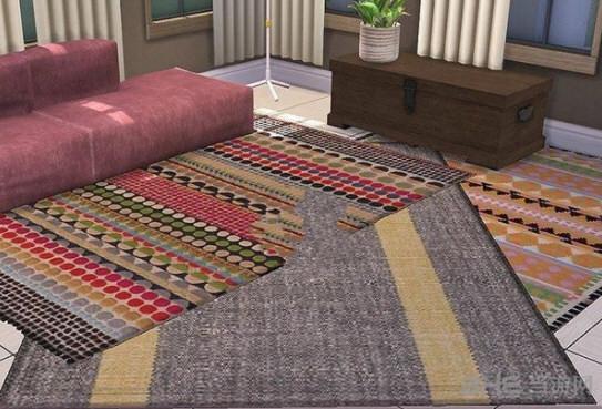 模拟人生4多款时尚地毯MOD截图0
