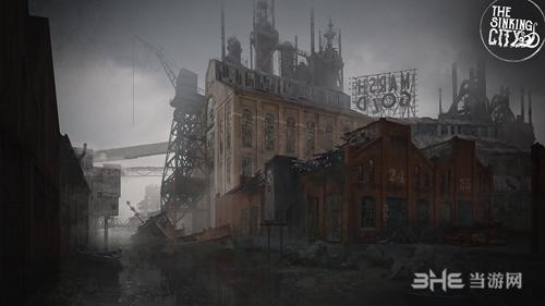 沉没之城报游戏宣传图
