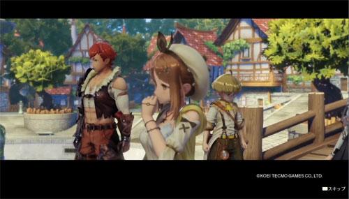 《莱萨的工作室》游戏截图3