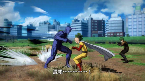 《一拳超人无名英雄》游戏截图3