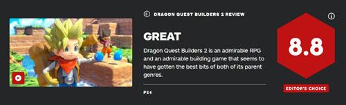 《勇者斗恶龙:建造者2》IGN评分