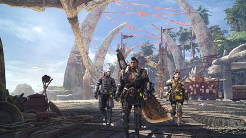 《怪物猎人世界》游戏截图2