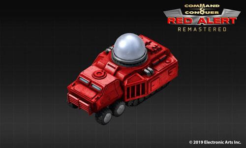 《命令与征服:红色警戒》磁暴坦克示意图