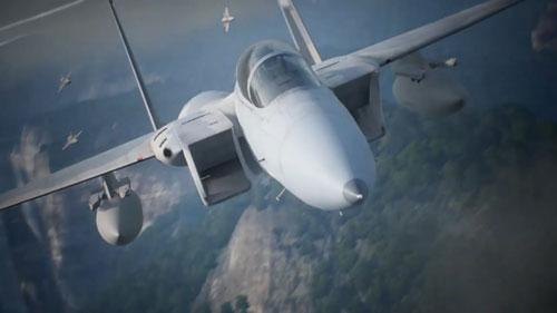《皇牌空战7:未知空域》游戏截图3