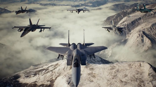 《皇牌空战7:未知空域》游戏截图5