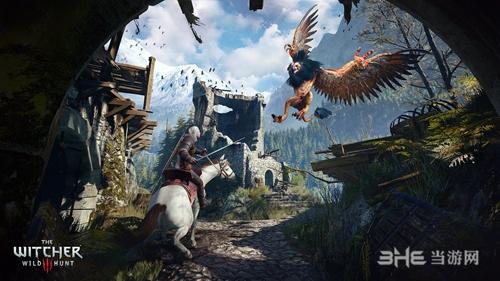 巫师3:狂猎游戏宣传图