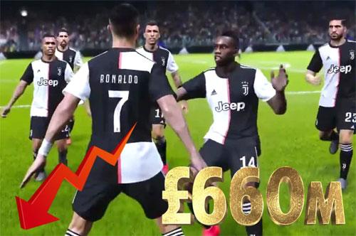 《实况2020》独家签约使EA市值少了6.6亿£