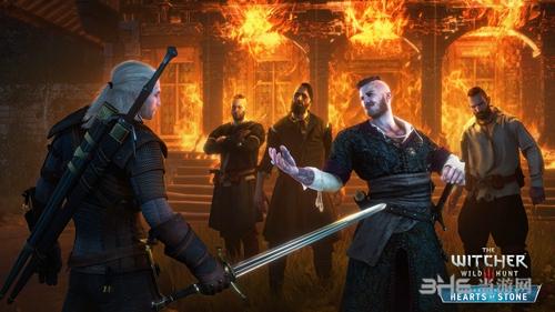 巫师3石之心游戏宣传图