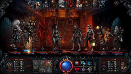 《伊拉图斯:死之主》游戏截图2