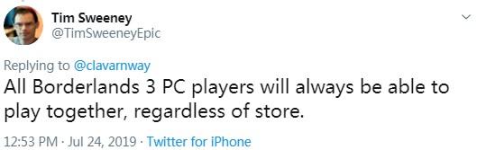 EPIC总裁推特图片