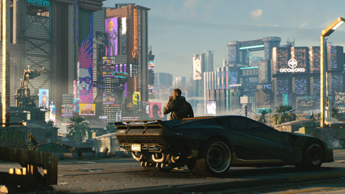 《赛博朋克2077》游戏截图