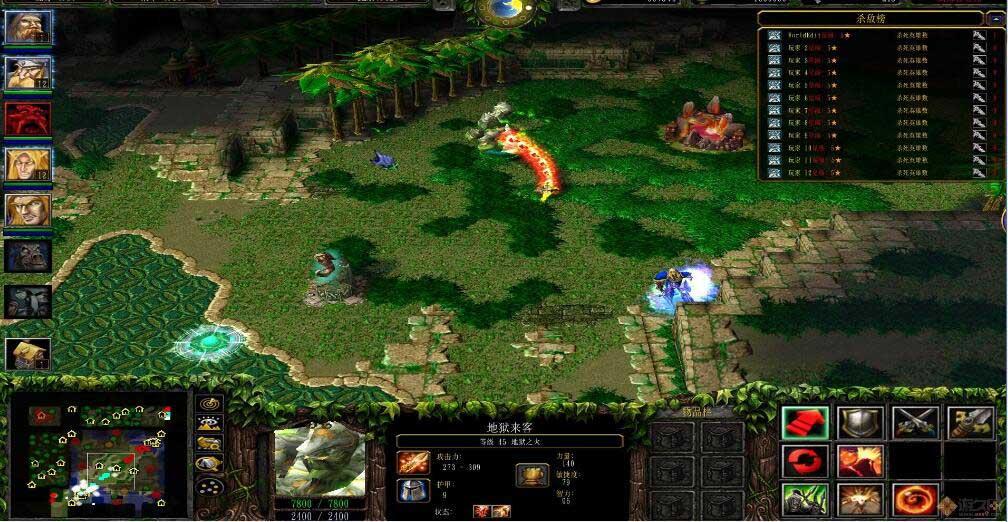 魔兽争霸3无CD自定义无限の大战斗截图2