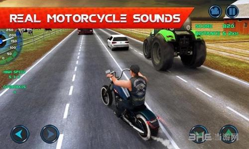摩托车交通赛车无限金币版截图0