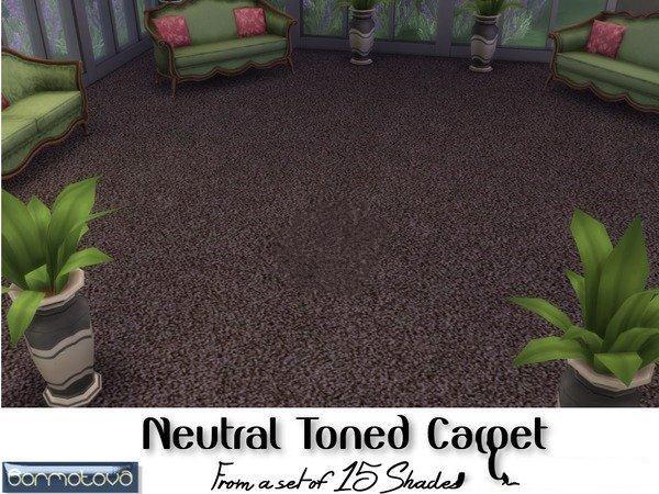 模拟人生4经典纯色地毯MOD截图0