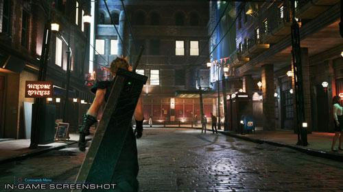 《最终幻想7:重制版》游戏截图