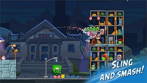 《愤怒的小鸟2》游戏截图1