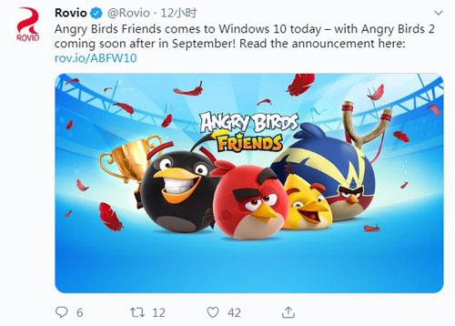 《愤怒的小鸟2》官推内容