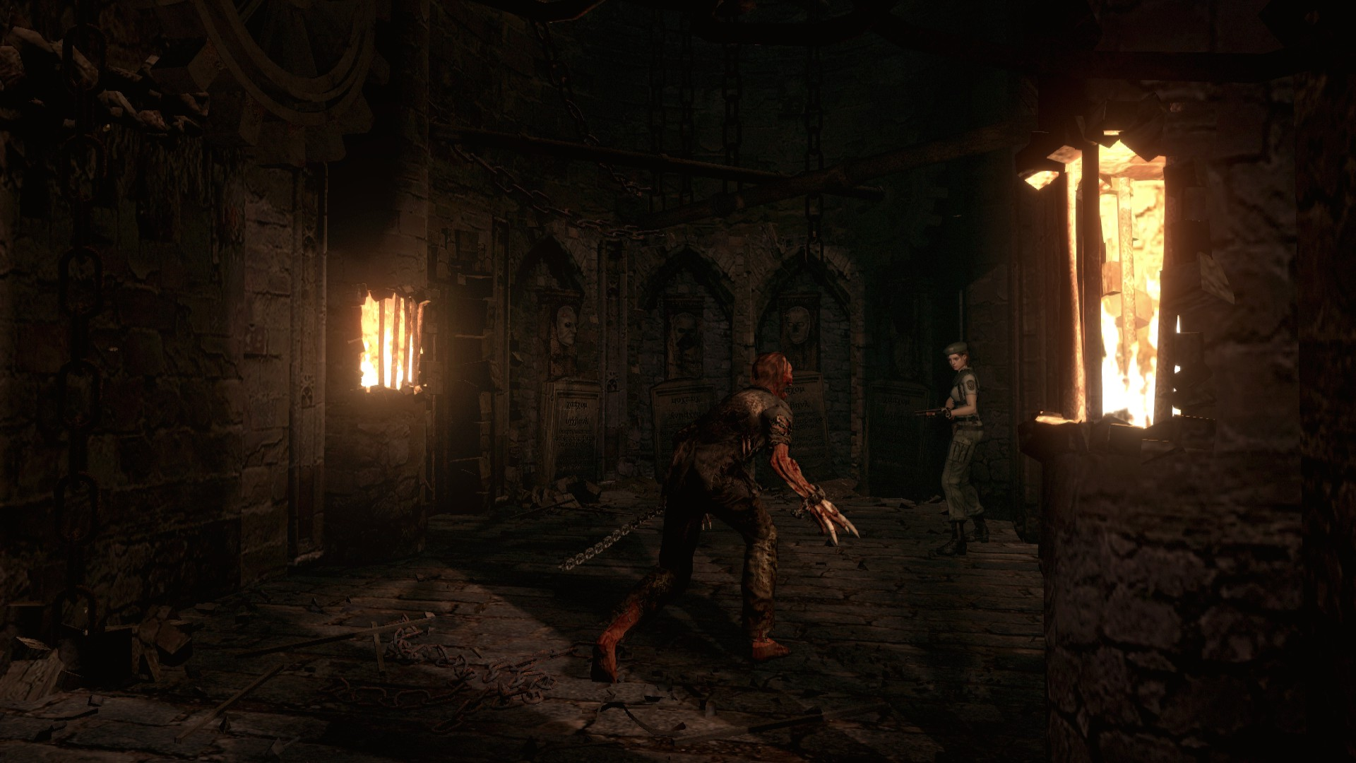 生化危机HD重制版游戏截图3