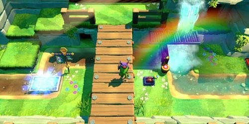 《尤卡莱莉与无望巢穴》游戏截图2