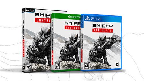 《狙击手:幽灵战士契约》实体版