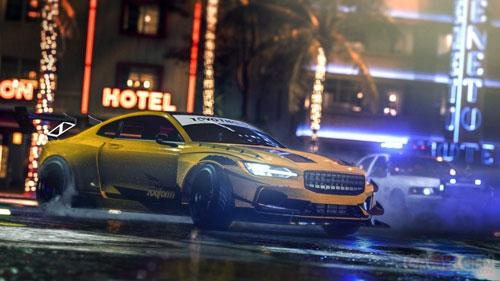 《极品飞车:热度》游戏截图