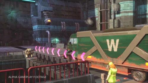《超越钢铁天空》游戏截图3