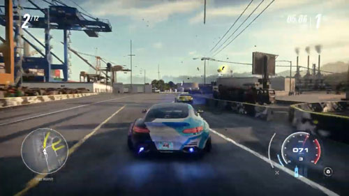 《极品飞车21:热度》游戏截图1