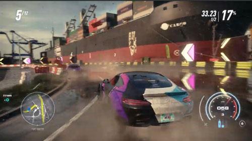 《极品飞车21:热度》游戏截图4