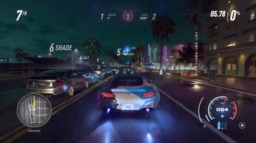 《极品飞车21:热度》游戏截图5
