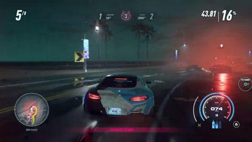 《极品飞车21:热度》游戏截图3