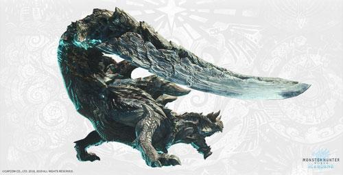 《怪物猎人世界:冰原》硫斩龙