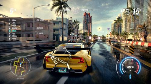 《极品飞车21》游戏截图